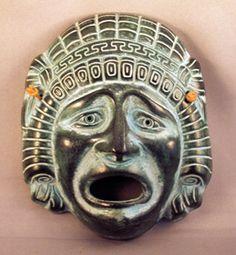 Mask...greek theater tragedy
