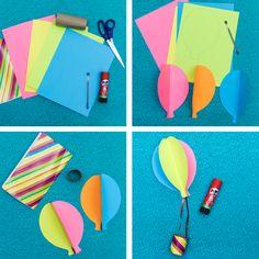 Construye con tus peques un paraca das conpritt para - Trabajos manuales de navidad para ninos de primaria ...
