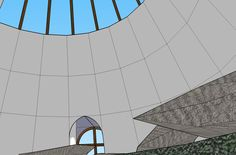 Plans, croquis, 3ds et projets - Superadobe France Small House Kits, Kit Homes, Plans, Backyard, Mirror, Home Decor, Construction, Fire, Blue Prints