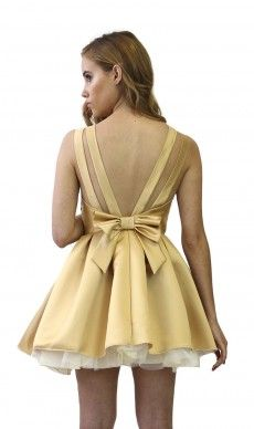 Audrey dress by jones and jones yellow box