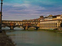 Firenze - Ponte Vecchio e Galleria Vasariana   #TuscanyAgriturismoGiratola