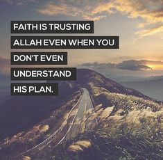 There is no need to understand why, just trust in his plan for you!