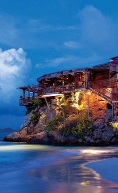 Eden Rock Hotel ~ St. Barts, in the Caribbean