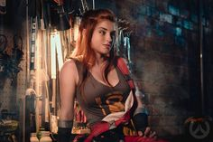 Did I share this picture of my Brigitte cosplay Deerstalker Pictures took of me? Brigitte Overwatch, Brigitte Lindholm, Bd Comics, Armada, Best Cosplay, Amazing Cosplay, Poses, Cosplay Girls, Female Characters