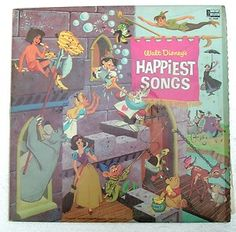 Walt Disney's Happiest Songs Gulf Gas Station Promo 1967 Walt Disney Records