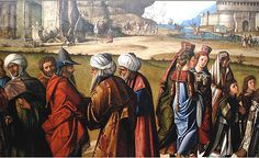 Consecration of St. Stephen 1511 By Vittore Carpaccio (1465-1526)