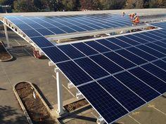 RBI Solar carport solution #solar #renewableenergy #cleanenergy #sustainability