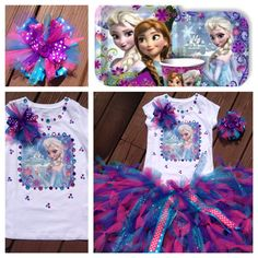 Disney Frozen Elsa Birthday party matching tutu set your size  on Etsy, $72.99