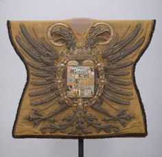 The tabard of the herald of the Holy Roman emperor, 1613 and with the emperor's coat of arms. Medieval Knight, Medieval Art, Kingdom Of Bohemia, Renaissance, History Of Germany, Kunsthistorisches Museum Wien, Kingdom Of Italy, Imperial Eagle, Archery
