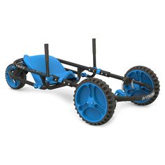 Ybike Explorer - Blue, Pedal and Push Riding Toys Get the perfect kids toys for your youngsters Scooters, Diy Go Kart, Karts, 3rd Wheel, Kids Ride On, Ride On Toys, Outdoor Toys, Outdoor Stuff, Outdoor Play