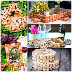 Create one-of cork stoppers practical household items http://veu.sk/index.php/aktuality/1800-vyrobte-si-z-korkovych-zatiek-prakticke-veci-do-domacnosti.html #create #cork #stoppers #practical #diy #household #items
