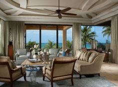 Ocean Front Living traditional living room