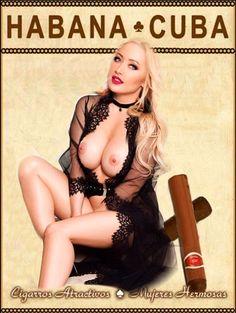 HABANA ♣️ CUBA - Cigarros Atractivos ♠️ Mujeres Hermosas
