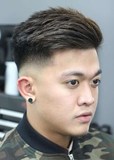 Asian men hairstyle images