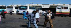 أكادير : مواطنون يعيشون لحظات عصيبة داخل حافلة للنقل