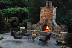 Fireplaces & Patios - Coogan's Landscape Design - Charlotte, NC