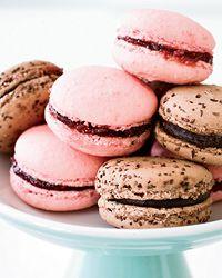 ++ Raspberry Macarons #glutenfree