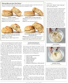 Bread Recipes, Cooking Recipes, Butter Roll, How To Make Biscuits, Cream Biscuits, Easy Science, Camembert Cheese, Side Dishes, Rolls