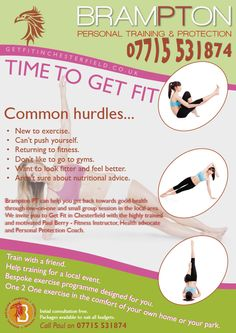 Flyer design design 9461150 submitted to leaflet to promote a new nice annual leaflet for fitness trainer based in chesterfield solutioingenieria Choice Image