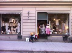 Old Touch, a great vintage store on Upplandsgatan, Stockholm