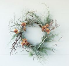 Juniper wreath from the Wreath Recipe Book | Gardenista