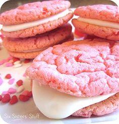 Strawberry Valentine Oreo Cookies Recipe | Key Ingredient