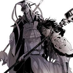 The Emperor and the Magi - Judal and Ren Hakuryuu