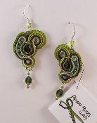 Mesclun barouque style earring #299