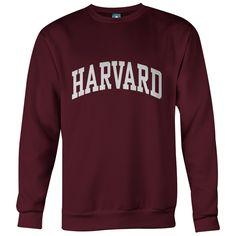 Harvard University Classic Crew Sweatshirt (Crimson)