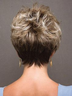 Brown Hair Source Blonde Layered Hair Source Angled Bob Hair Source Curly Bob Source Short Layered Bob Hairstyles Source Dark Hair Source Messy Hair Source Back View Of Short Bob Hairstyles Source… Continue Reading → Hairstyles For School, Bob Hairstyles, Straight Hairstyles, Natural Hairstyles, Pixie Haircuts, Blonde Layered Hair, Short Blonde, Short Layered Haircuts, Short Hair Cuts
