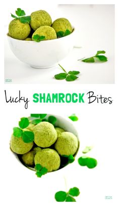 ... Shamrock Protein Bites (aka Healthy Bites). They are packed with