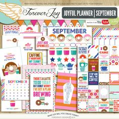 Joyful Planner September by Forever Joy at The Lilypad