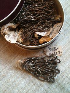 Bildergebnis für french steel cut beads