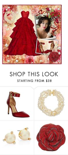 """Dreaming"" by gigisstyle on Polyvore featuring RALPH & RUSSO, MICHAEL Michael Kors, Tory Burch, Kate Spade and Judith Leiber"