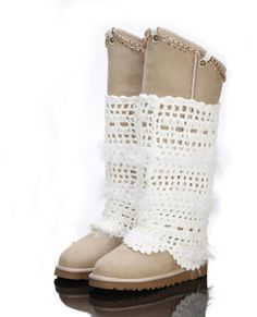 Classic Tall UGG Boots 9827 white