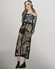 Sketchbook Tour, Behance, Dresses, Fashion, Moda, Vestidos, Fashion Styles, Dress, Dressers