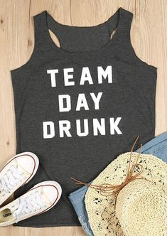 33c2cc4b Team Day Drunk Tank Black Drunk Woman, Vest Outfits, Fashion Outfits,  Sleeveless Tops