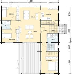 ROOM 老後まで快適に過ごせる住まいを見つけるメディア Sims, House Plans, Floor Plans, Layout, House Design, Cabin, Flooring, How To Plan, Architecture