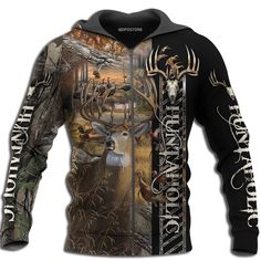 Do not miss these awesome Hunting Style Shirt! This is a true paradise for Hunting Style fans/lovers. Mens Printed Shirts, Nike Pro Women, Yoga For Men, New Fashion, Fashion Beauty, Fashion Women, Hooded Sweatshirts, Camo Sweatshirt, Shirt Style