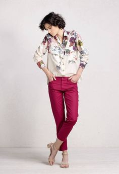 Shirt Floral Print - Blouse/Top | Ivko Woman