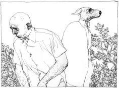 Nicholas de crecy, amazing sketch guy