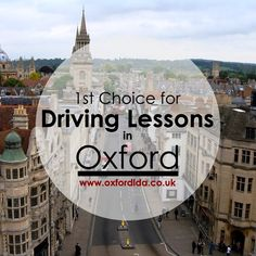 Competitive rates, block booking discounts and lots more great incentives, make us first choice for driving lessons in Oxford. Book your course right today: https://goo.gl/ajLf3x