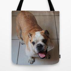 MOLLY SMILE Tote Bag by sergio yamasaki - $22.00