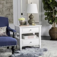 FOX6277A Nightstands - Furniture by Safavieh