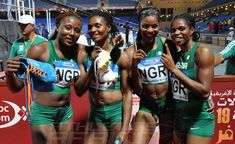 Team Nigeria athletes captured more medals at the ongoing All Africa Games Paul 2, Long Jump, Badminton, Athletes, Liverpool, Champion, Africa, Wrestling