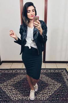looks con falda y converse para das casuales