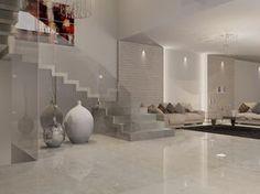 Risultati immagini per porcelanosa contour beige Home Room Design, Interior Design Living Room, Living Room Designs, Interior Decorating, House Design, Small Apartment Interior, Room Tiles, Living Room Flooring, Staircase Design