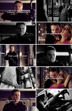 I worked for Sebastian Blood, if you'll recall. I know you've forsworn killing! #arrow