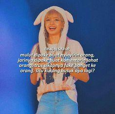Instagram @kuotes.kpop Quotes Lucu, Bts Quotes, Qoutes, Swag Words, Savage Quotes, Reminder Quotes, Quotes Indonesia, Korean Language, Quote Aesthetic