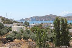 Looking at the port from Golden Sun's pool_Ios, Greece_September'14